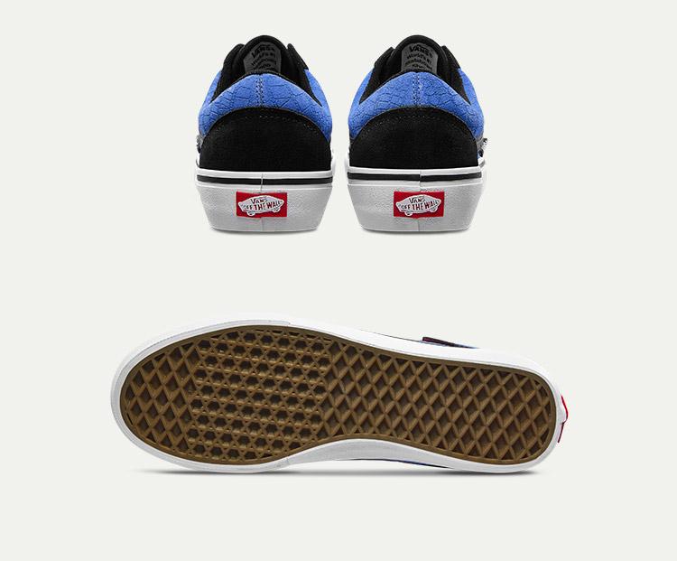 VANS男女同款职业滑板鞋休闲鞋