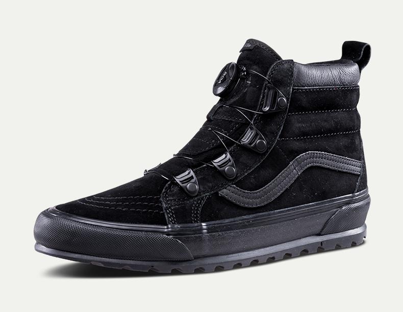 万斯SK8-HI男款女款板鞋(黑色)