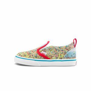 VANS X WHERE'S WALDO SLIP-ON 小童联名帆布鞋