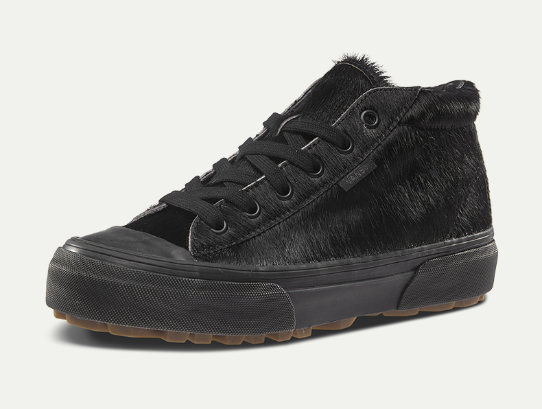 万斯黑色classic经典款男女款休闲板鞋
