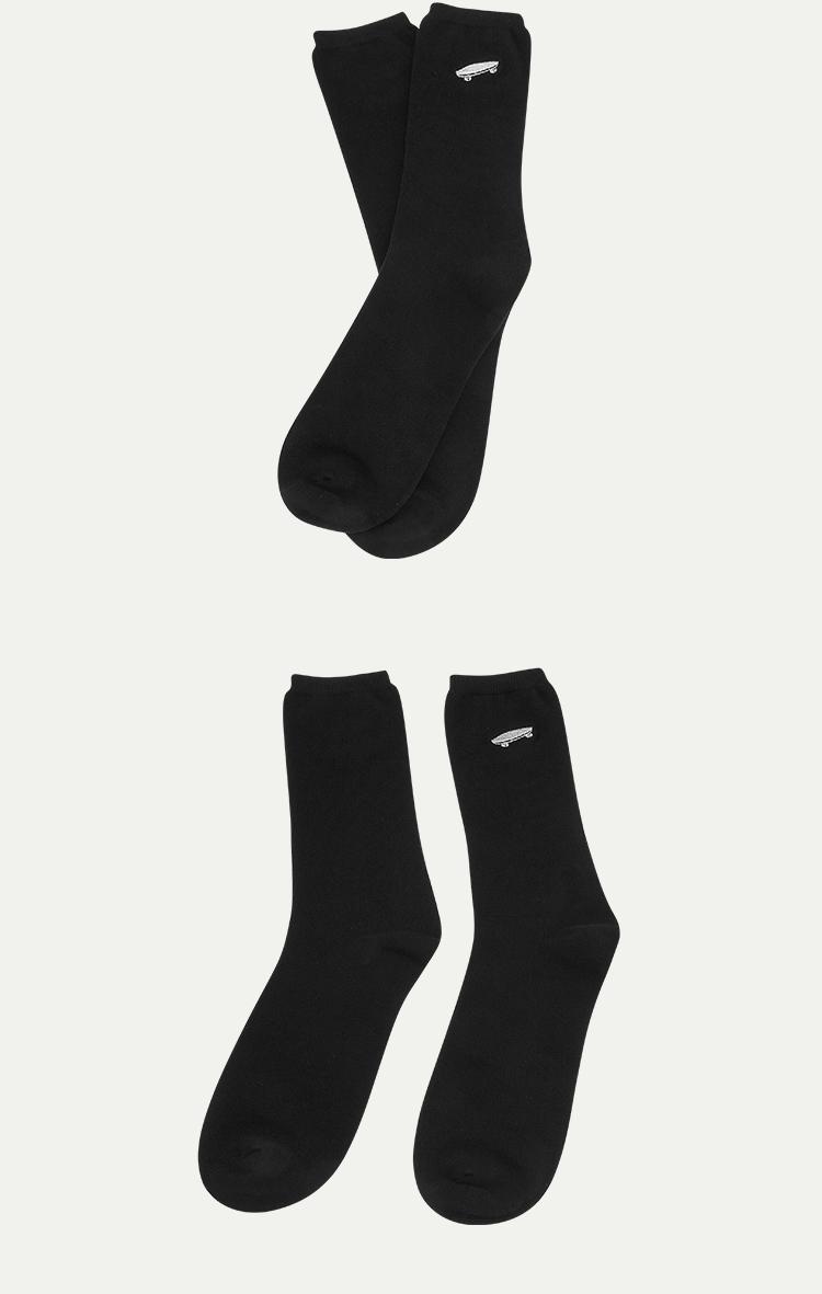 VANS(范斯)AP-C-SALTON-C-SOCKS男款袜子(黑色)