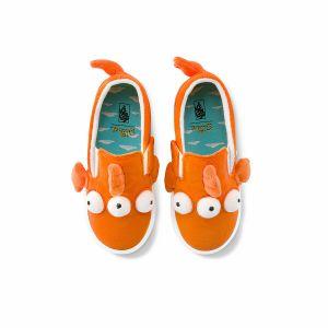 FISH SLIP-ON V 小童帆布鞋