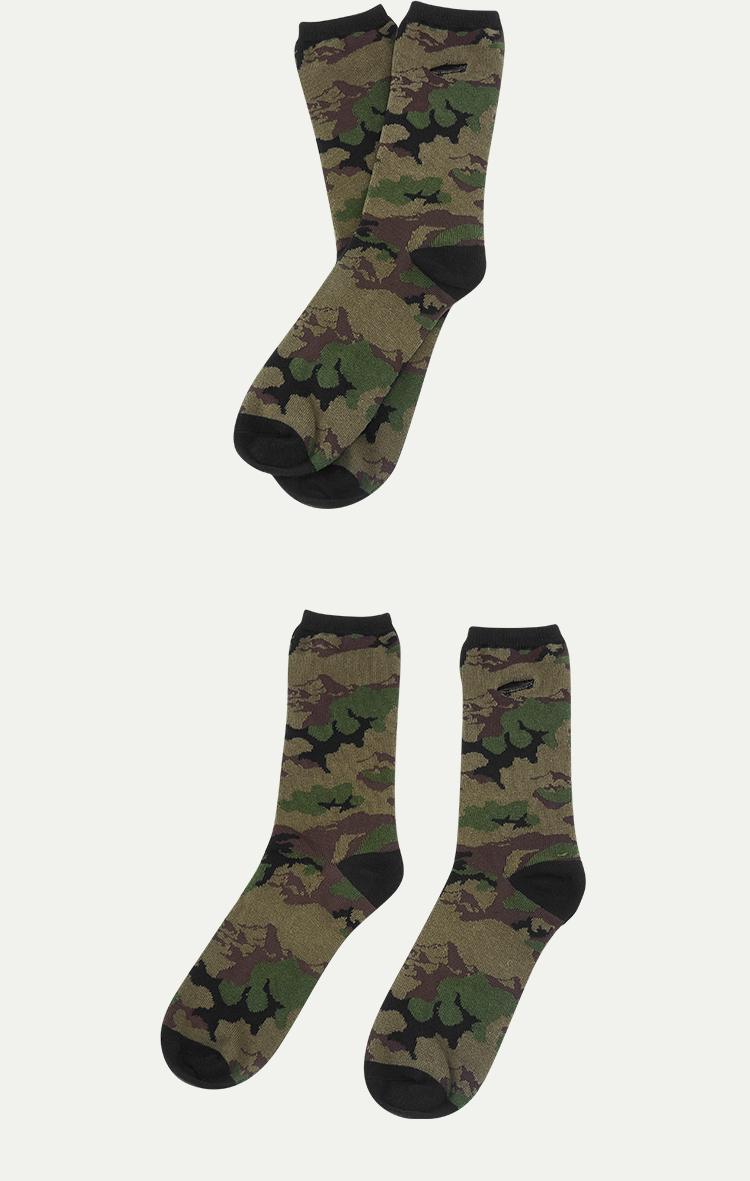 VANS(范斯)AP-C-SALTON-C-SOCKS男款袜子(迷彩色)