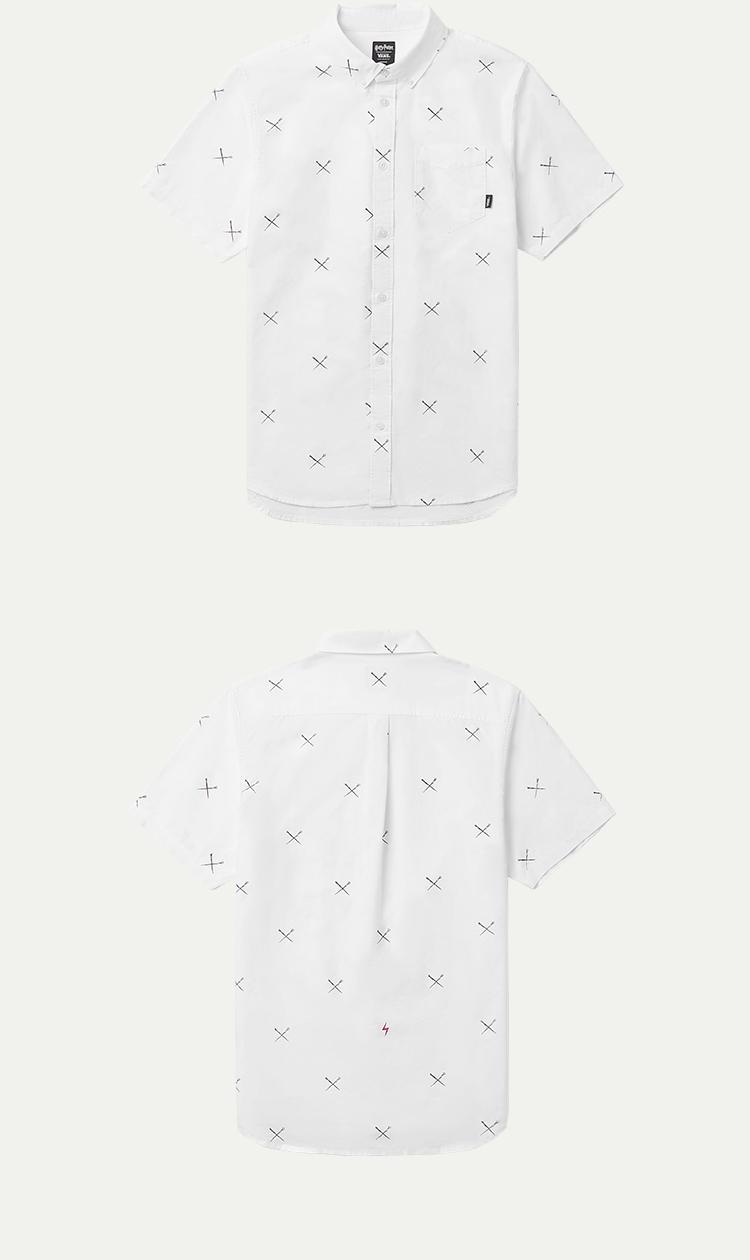 范斯男款T恤短袖T恤