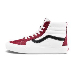 红色/白色