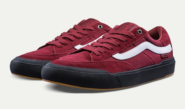 范斯滑板鞋,可搭配vans时尚系带方法