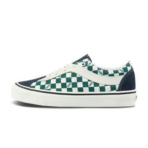 蓝色/绿白棋盘格