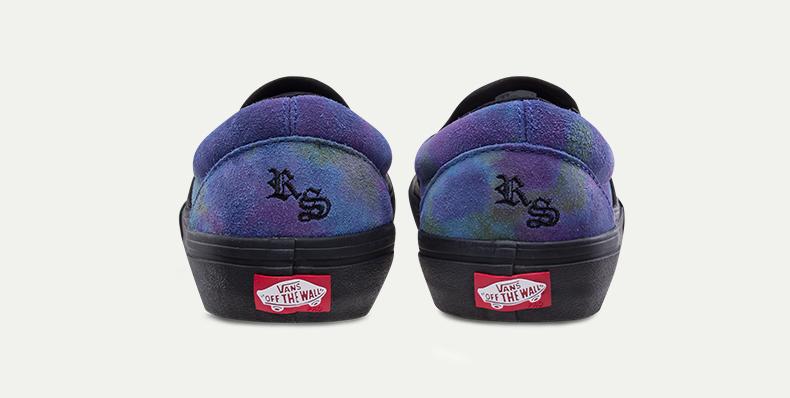 Vans滑板鞋细节展示