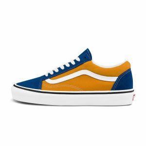 蓝色/橙色